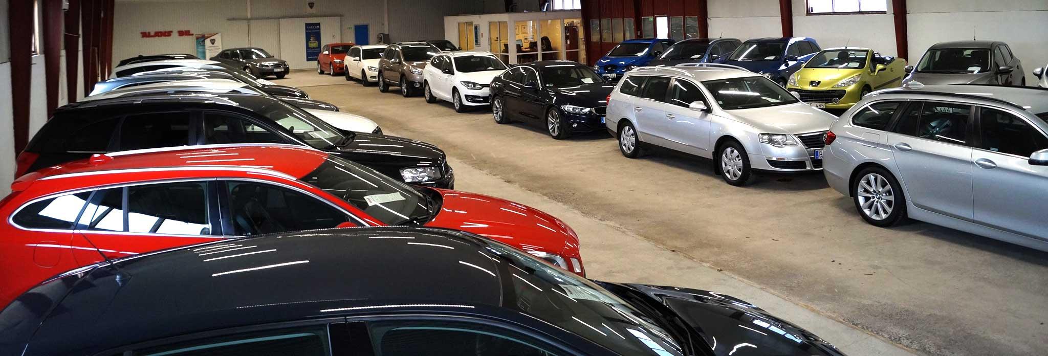 Alans Bil i Tommelilla - Vår bilhall